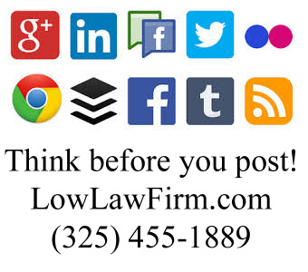 social media and lawsuits