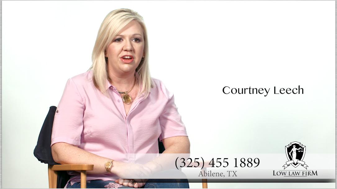 abilene injury lawyer tara low